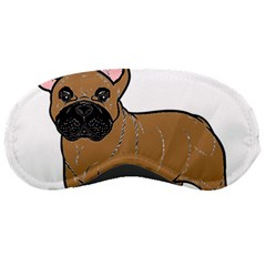 French Bulldog Tan Cartoon Sleeping Masks
