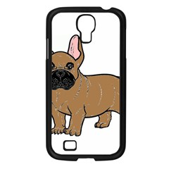 French Bulldog Tan Cartoon Samsung Galaxy S4 I9500/ I9505 Case (Black)