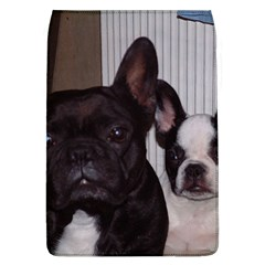 2 French Bulldogs Flap Covers (L)