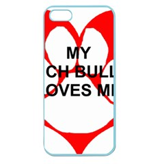 My French Bulldog Loves Me Apple Seamless iPhone 5 Case (Color)