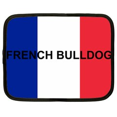 French Bulldog France Flag Netbook Case (XL)