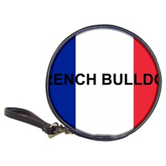 French Bulldog France Flag Classic 20-CD Wallets