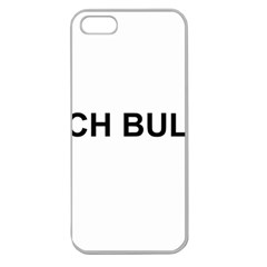 French Bulldog France Flag Apple Seamless iPhone 5 Case (Clear)