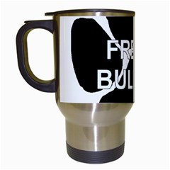 French Bulldog Name Mega Paw Travel Mugs (White)