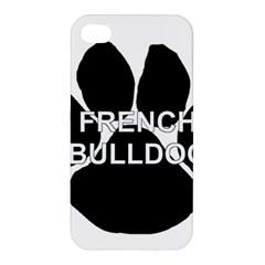 French Bulldog Name Mega Paw Apple iPhone 4/4S Hardshell Case