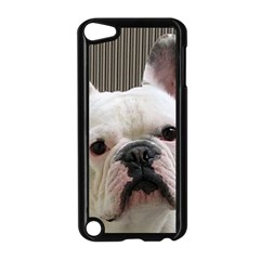 French Bulldog White Apple iPod Touch 5 Case (Black)