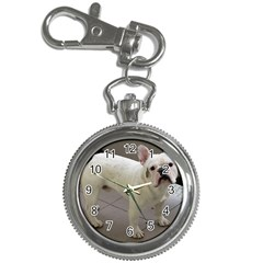 French Bulldog Full Key Chain Watches