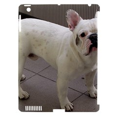 French Bulldog Full Apple iPad 3/4 Hardshell Case (Compatible with Smart Cover)