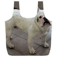 French Bulldog Full Full Print Recycle Bags (L)