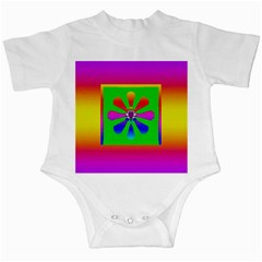 Flower Mosaic Infant Creepers