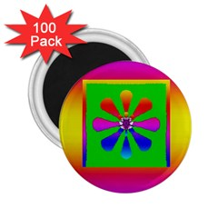Flower Mosaic 2.25  Magnets (100 pack)