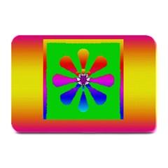 Flower Mosaic Plate Mats