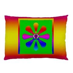 Flower Mosaic Pillow Case