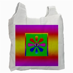 Flower Mosaic Recycle Bag (Two Side)