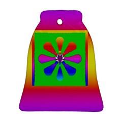 Flower Mosaic Ornament (Bell)