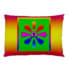 Flower Mosaic Pillow Case (Two Sides)
