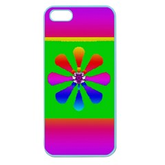 Flower Mosaic Apple Seamless iPhone 5 Case (Color)