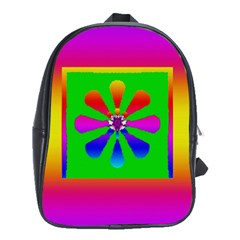 Flower Mosaic School Bags (xl)