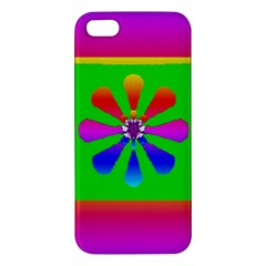 Flower Mosaic Iphone 5s/ Se Premium Hardshell Case