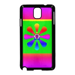 Flower Mosaic Samsung Galaxy Note 3 Neo Hardshell Case (black)