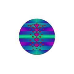 Hearts Weave Golf Ball Marker (10 pack)