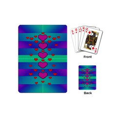 Hearts Weave Playing Cards (mini)
