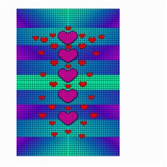Hearts Weave Large Garden Flag (Two Sides)