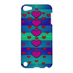Hearts Weave Apple iPod Touch 5 Hardshell Case