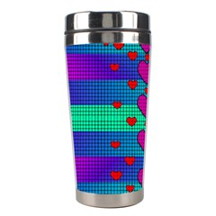 Hearts Weave Stainless Steel Travel Tumblers