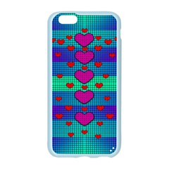 Hearts Weave Apple Seamless iPhone 6/6S Case (Color)
