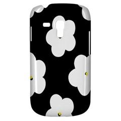 April Fun Pop Floral Flower Black White Yellow Rose Galaxy S3 Mini