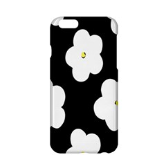 April Fun Pop Floral Flower Black White Yellow Rose Apple iPhone 6/6S Hardshell Case