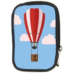 Air Ballon Blue Sky Cloud Compact Camera Cases