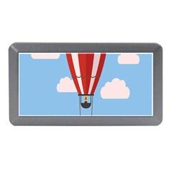 Air Ballon Blue Sky Cloud Memory Card Reader (Mini)