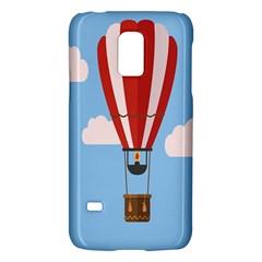Air Ballon Blue Sky Cloud Galaxy S5 Mini