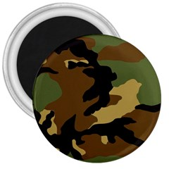 Army Camouflage 3  Magnets