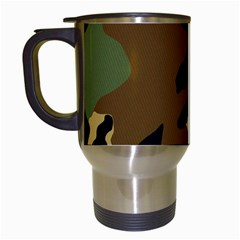 Army Camouflage Travel Mugs (White)