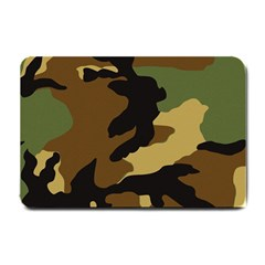 Army Camouflage Small Doormat