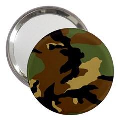 Army Camouflage 3  Handbag Mirrors