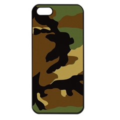 Army Camouflage Apple iPhone 5 Seamless Case (Black)