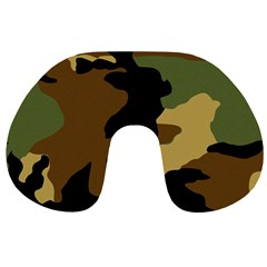 Army Camouflage Travel Neck Pillows
