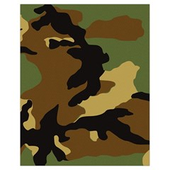 Army Camouflage Drawstring Bag (Small)
