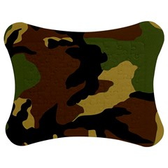 Army Camouflage Jigsaw Puzzle Photo Stand (bow)