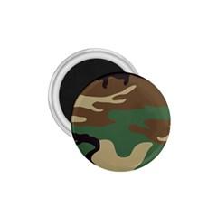 Army Shirt Green Brown Grey Black 1.75  Magnets