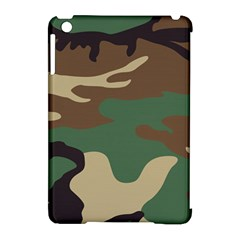 Army Shirt Green Brown Grey Black Apple iPad Mini Hardshell Case (Compatible with Smart Cover)