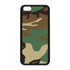Army Shirt Green Brown Grey Black Apple iPhone 5C Seamless Case (Black)