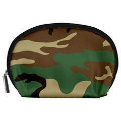 Army Shirt Green Brown Grey Black Accessory Pouches (Large)