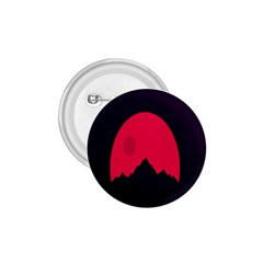 Awesome Photos Collection Minimalist Moon Night Red Sun 1 75  Buttons
