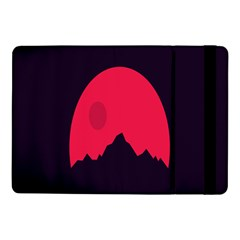 Awesome Photos Collection Minimalist Moon Night Red Sun Samsung Galaxy Tab Pro 10.1  Flip Case