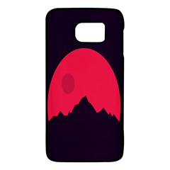 Awesome Photos Collection Minimalist Moon Night Red Sun Galaxy S6